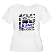 Colon Cancer Persevere T-Shirt