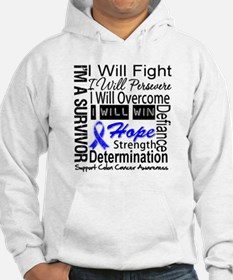 Colon Cancer Persevere Hoodie