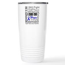 Colon Cancer Persevere Travel Mug
