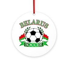 Belarus Soccer Designs Ornament (Round)