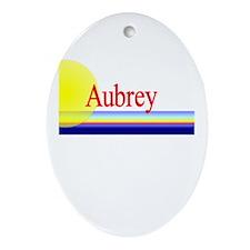 Aubrey Oval Ornament