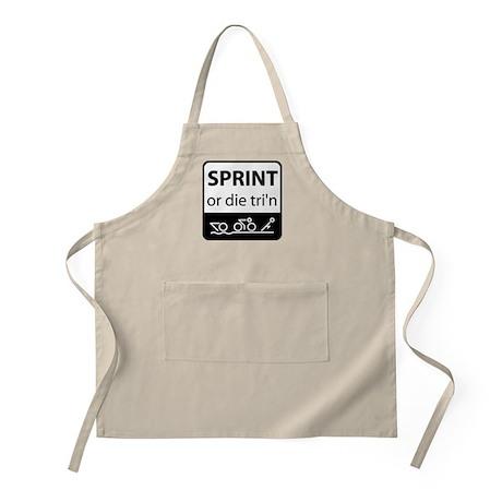 Sprint Or Die Apron