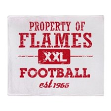 Property of Malawi Soccer Throw Blanket