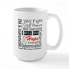 Bone Cancer Persevere Mug
