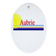 Aubrie Oval Ornament