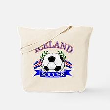 Iceland Soccer Designs Tote Bag