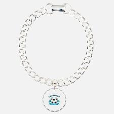 Kazakhstan Soccer Designs Bracelet