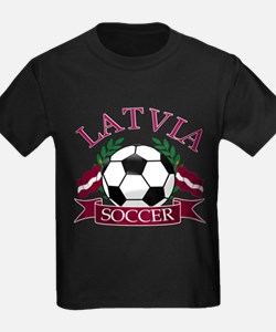 Latvia Soccer Designs T