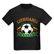 Lithuania Soccer Designs T