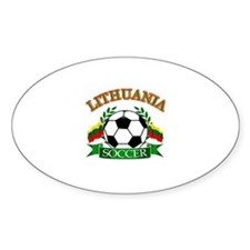 Lithuania Soccer Designs Decal