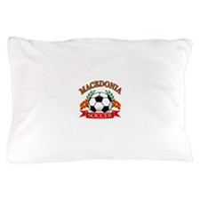 Macedonia Soccer Designs Pillow Case