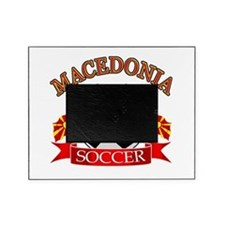 Macedonia Soccer Designs Picture Frame