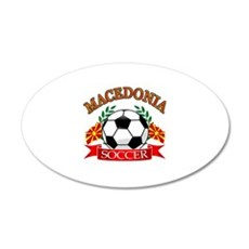 Macedonia Soccer Designs Wall Decal