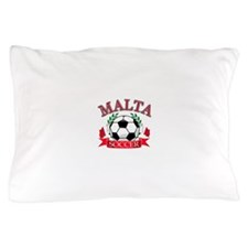 Malta Soccer Designs Pillow Case