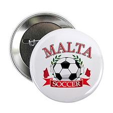"""Malta Soccer Designs 2.25"""" Button"""