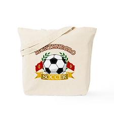 Montenegro Soccer Designs Tote Bag