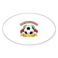 Montenegro Soccer Designs Decal
