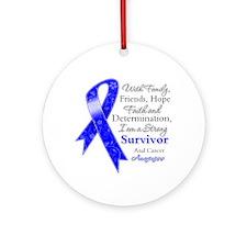 Strong Survivor Ornament (Round)