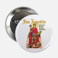 """San Expedito 2.25"""" Button"""