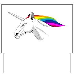Unicorn 2 Yard Sign