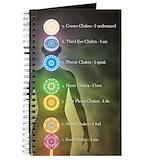 Chakra Journals & Spiral Notebooks
