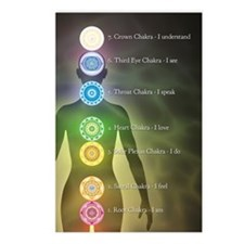 Chakra Energy Centers Postcards (Package of 8)