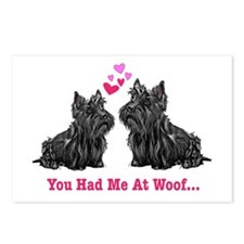 You Had Me at Woof Postcards (Package of 8)