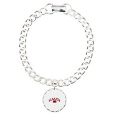 Albania Soccer Designs Bracelet