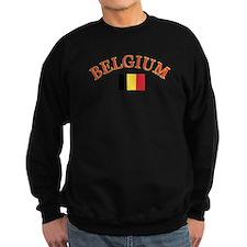 Belgium Soccer Designs Sweatshirt