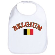 Belgium Soccer Designs Bib