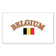 Belgium Soccer Designs Decal