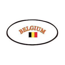 Belgium Soccer Designs Patches