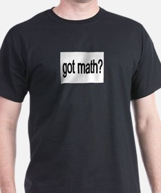 got math black T-Shirt