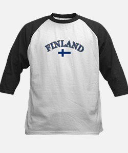 Finland Soccer Designs Tee