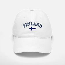 Finland Soccer Designs Baseball Baseball Cap