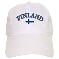 Finland Soccer Designs Baseball Cap