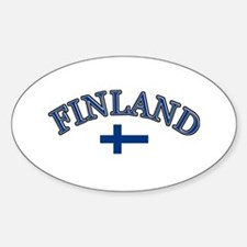 Finland Soccer Designs Decal