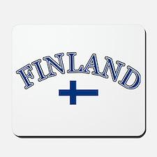 Finland Soccer Designs Mousepad
