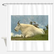 Mountain Goat Shower Curtain