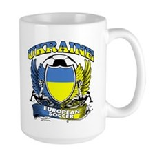 Ukraine Football Soccer Mug