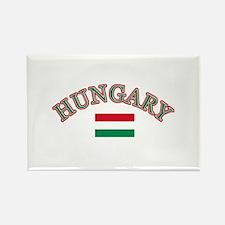 Hungary Soccer Designs Rectangle Magnet