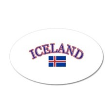 Iceland Soccer Designs Wall Decal