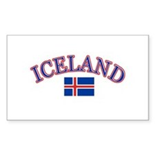 Iceland Soccer Designs Decal