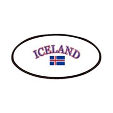 Iceland Soccer Designs Patches