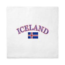 Iceland Soccer Designs Queen Duvet