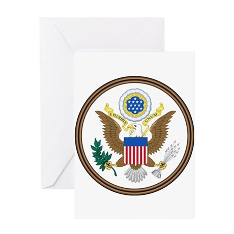 USA Seal Greeting Card