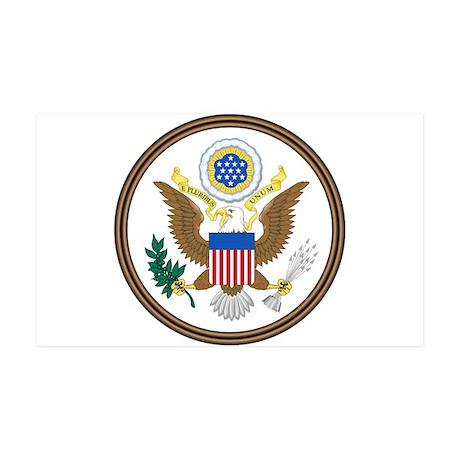 USA Seal 35x21 Wall Decal