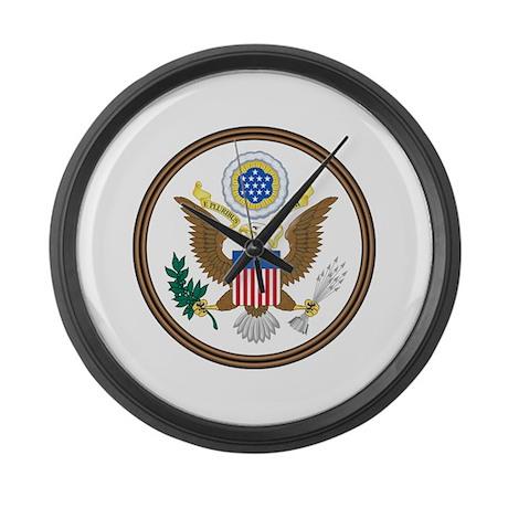 USA Seal Large Wall Clock