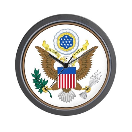 USA Seal Wall Clock