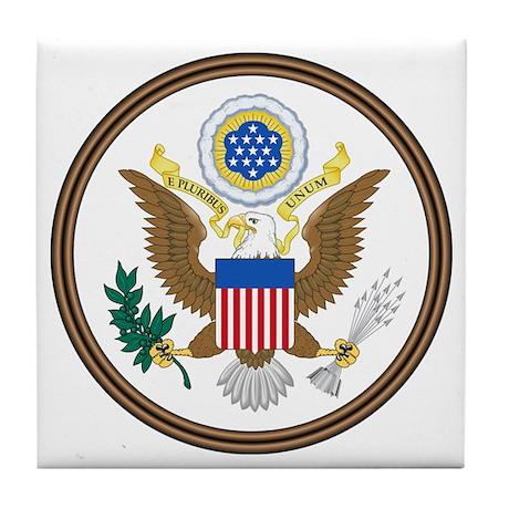 USA Seal Tile Coaster